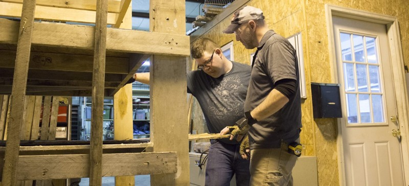Woodworking Program helps Adults with Developmental Disabilities