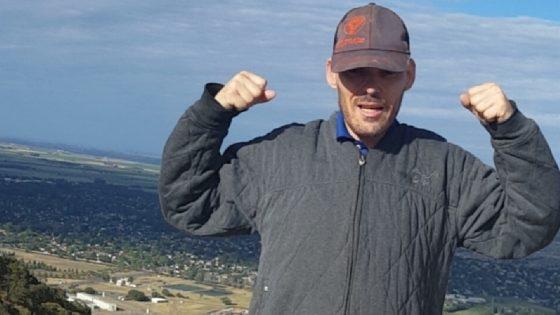 Tim's 4 miles summit hiking at Pena Adobe